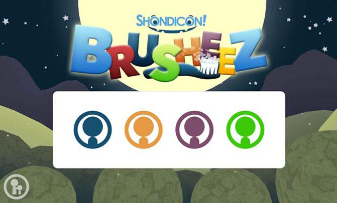 Gamification App Brusheez: Splashscreen Shondicon