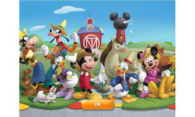 Gamification-App Disney Magic Timer: Bild fürs Sammelalbum