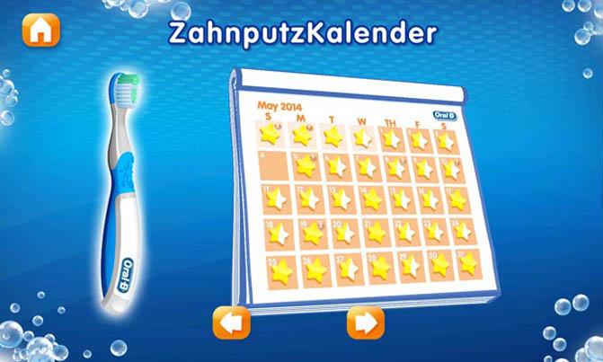 Gamification-App Disney Magic Timer: Zahnputzkalender
