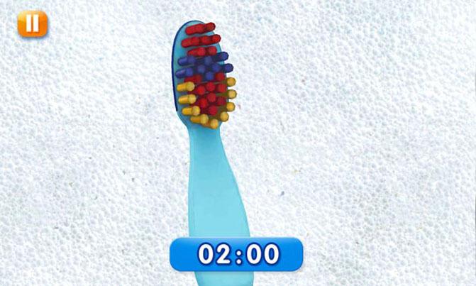 Gamification-App Disney Magic Timer: Start einer Zahnputzsession
