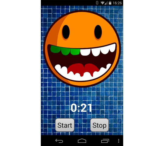 Gamification App Toothbrush-timer2
