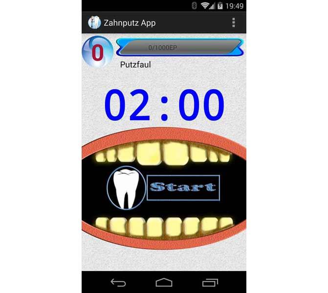 Gamification App Zahnputz App