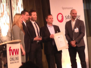 Gewinner des fvw Online Marketing Award